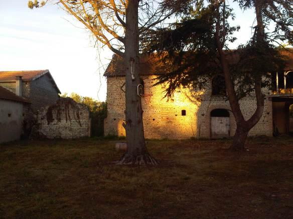 Barn of the Rising sun