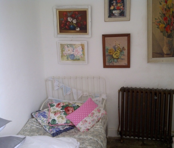 A small spare room for visiting goddaughters