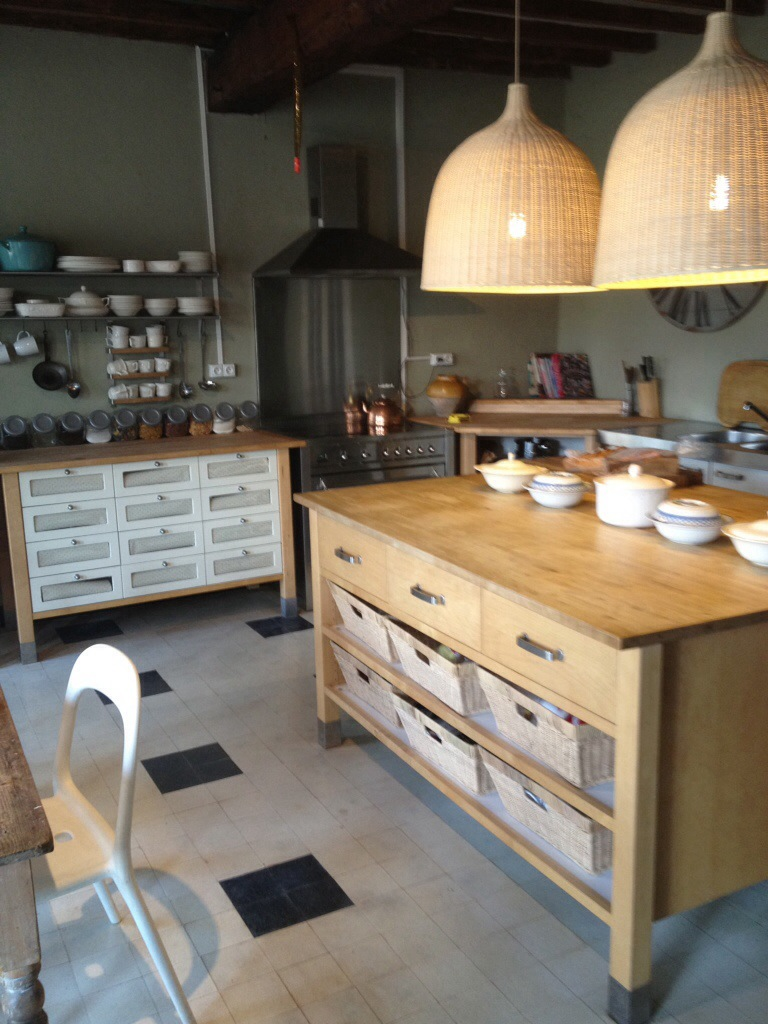 French Kitchen We Bought A French House # Meuble Angle Varde Ikea
