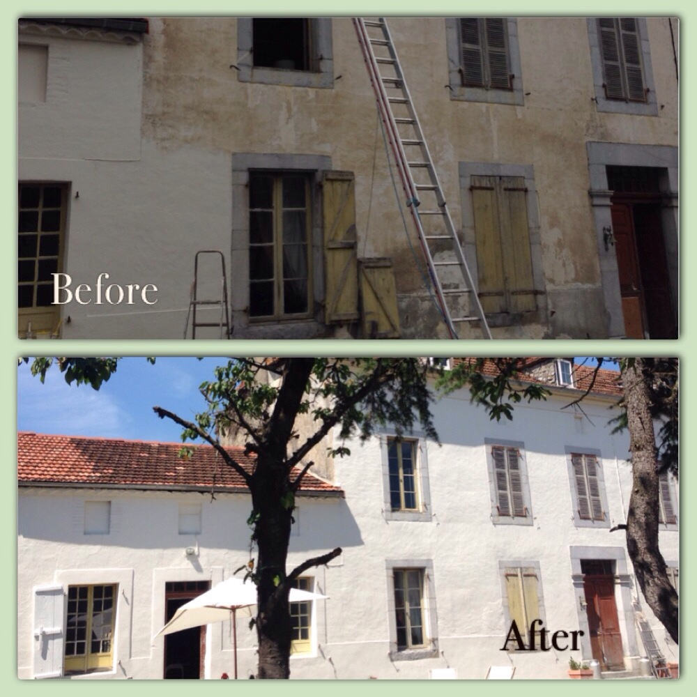 masonry paint | we bought a french house